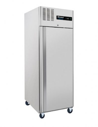 Blizzard BL1SS Single Door Ventilated Gn Ss Freezer 550L